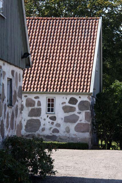 Några av husen på Grevlundagården