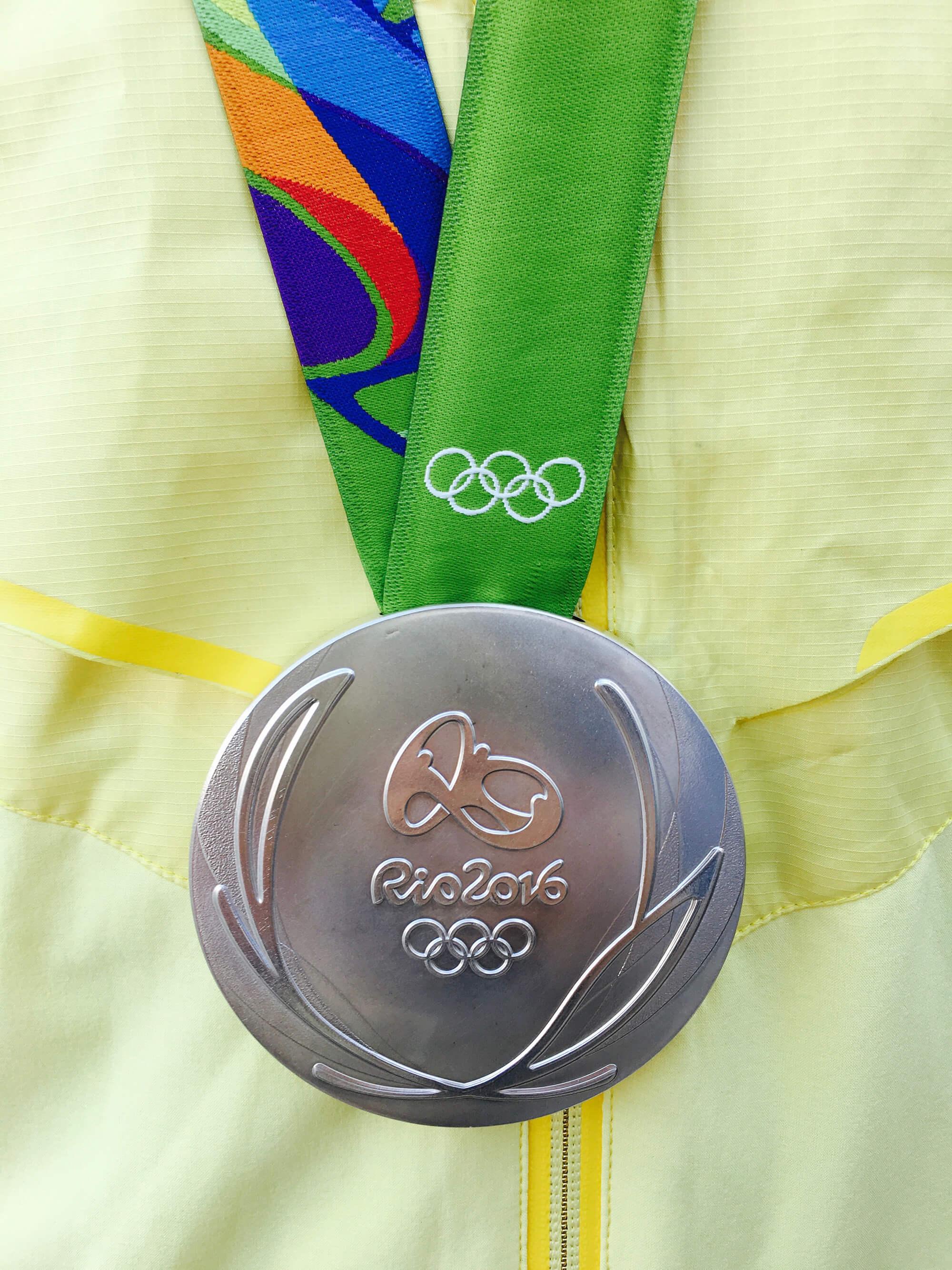 OS-silvermedaj från Rio