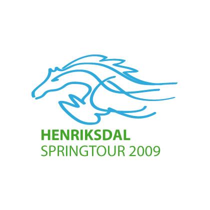 Logotyp Henriksdal springtour 2009
