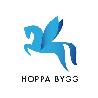 Logotyp Hoppa Bygg